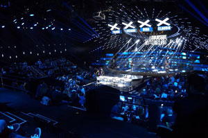 AMG International: luci, audio e video per Italia's Got Talent Official